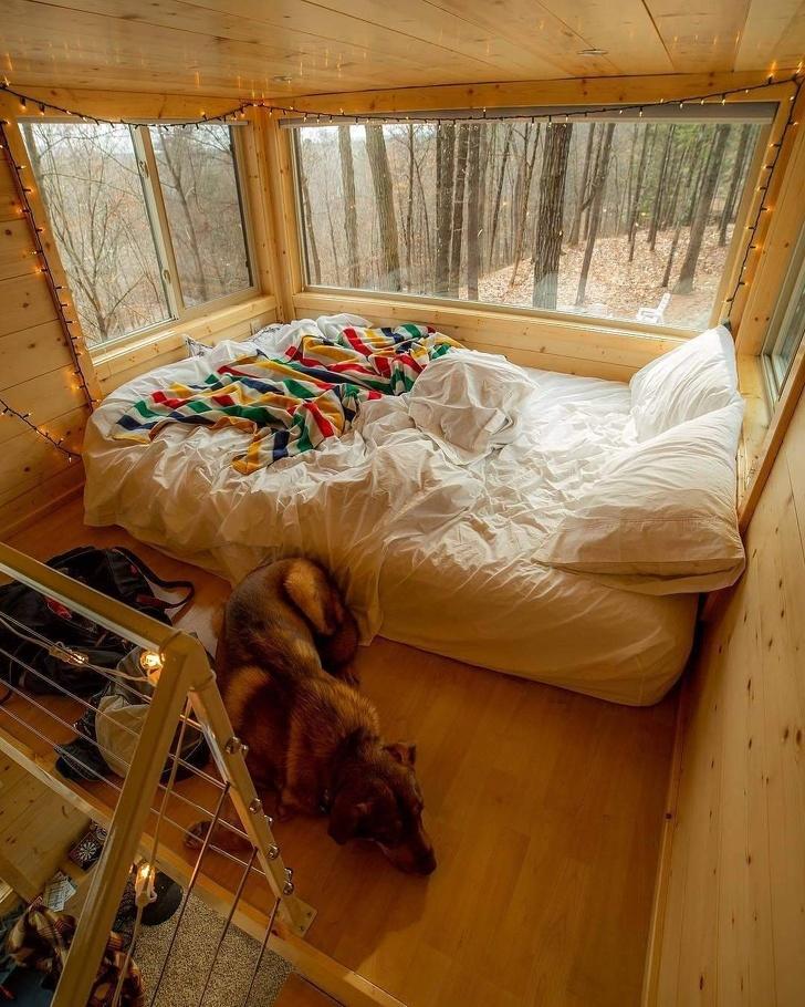 Люди делятся снимками своих любимых мест, которые настолько уютны, что кажутся нереальными