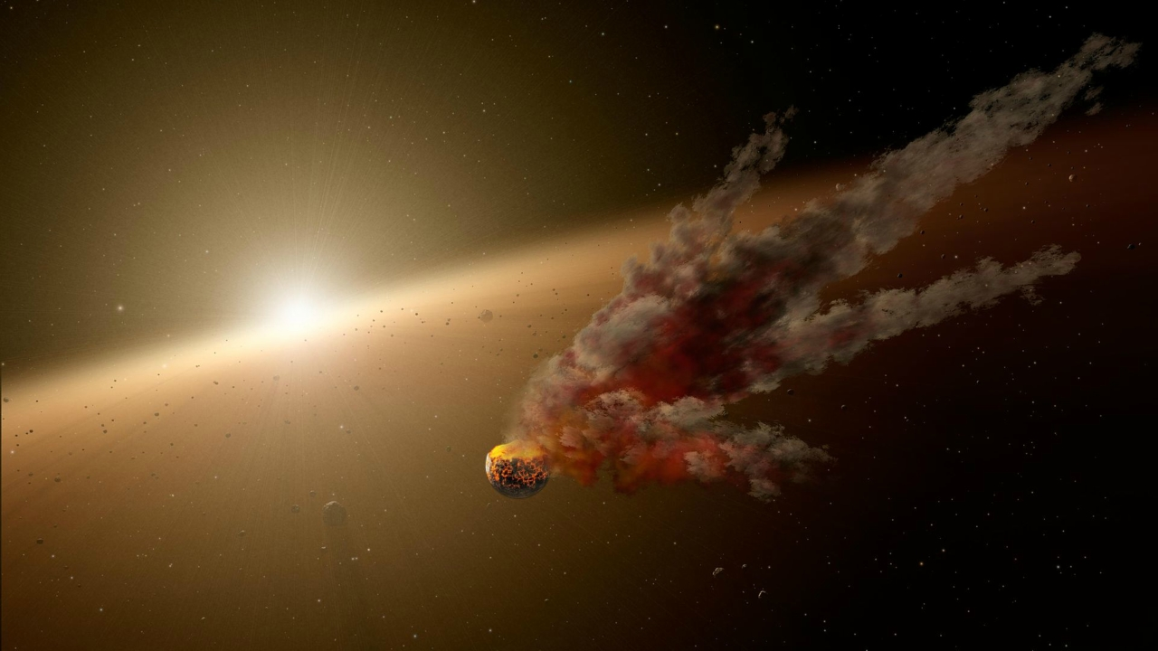Предложено новое объяснение затмений звезды Табби