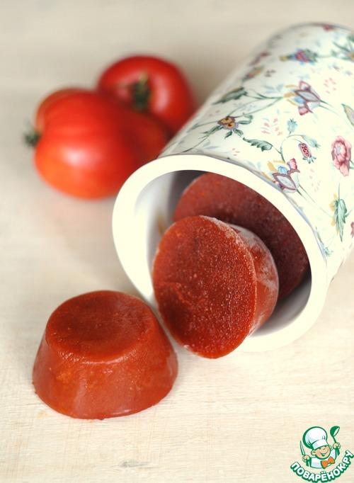 Быстрое томатное пюре. Заморозка!