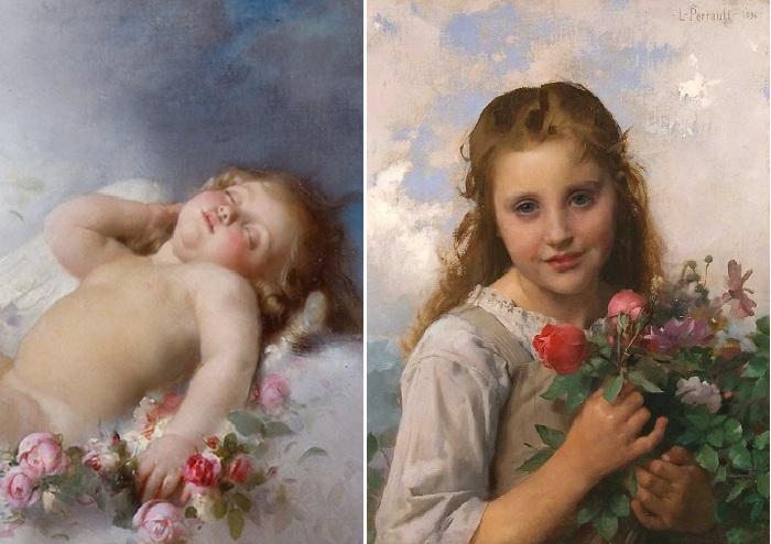Сентиментальный реализм Леона Базиля Перро - художника вне моды, картины которого почти полвека выставляли в Парижском Салоне