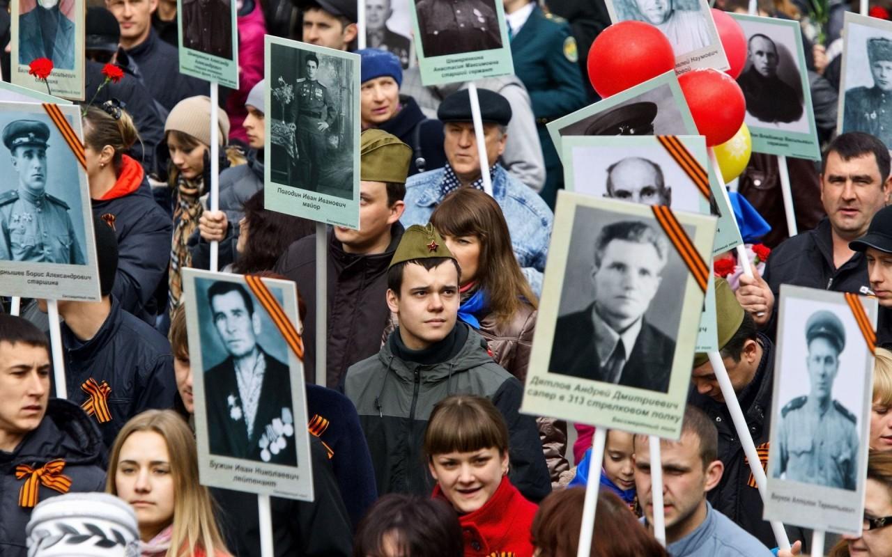 8 миллионов россиян стали участниками «Бессмертного полка»