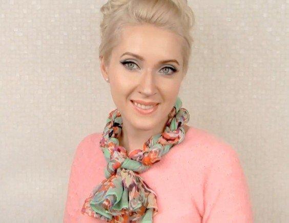 Как завязать шейный платок, чтобы выглядеть эффектно, стильно и модно