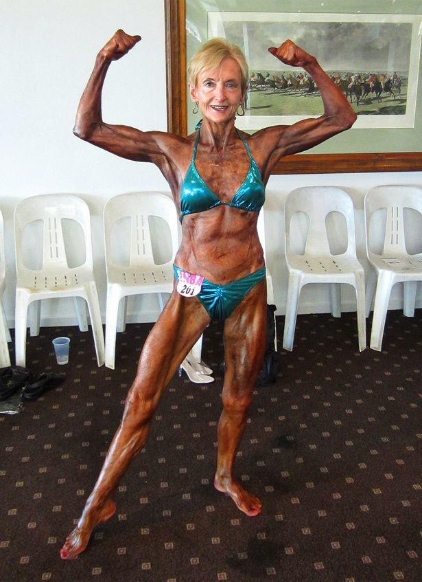 Как выглядит бабушка, которая 20 лет занимается бодибилдингом Дженис Лоррейн, бабушка, бодибилдинг, люди, спорт, тело, фигура