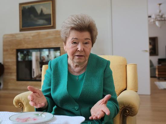 Наина Ельцина ответила Руцко…