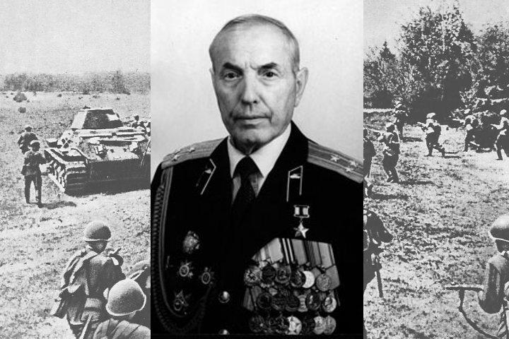 Как советский танк Т-34 сбил немецкий самолет