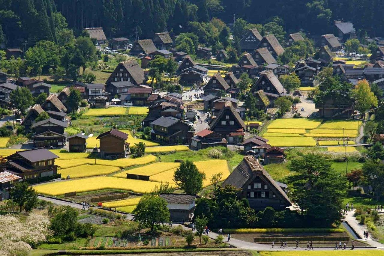 Исторические села Японии