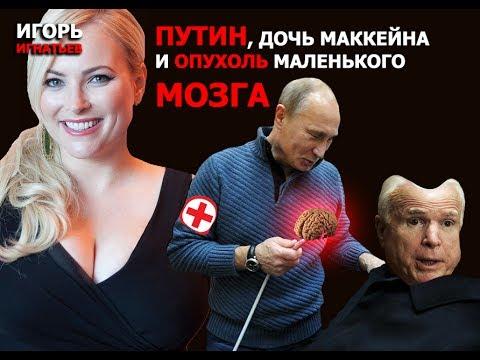 Путин, дочь Маккейна и опухоль маленького мозга
