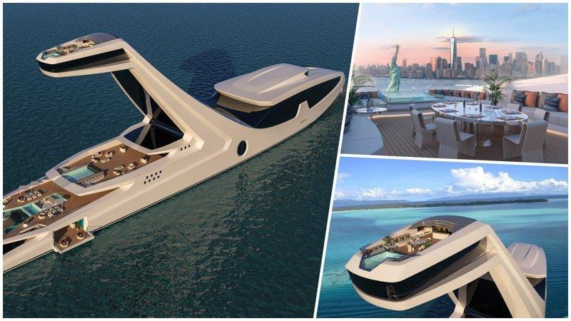Итальянец собирается построить самую роскошную в мире яхту ценой $250 000 000 shaddai, габриэле теруцци, роскошь, шаддай, яхта