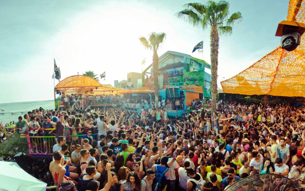 Молодёжные вечеринки на Кипре