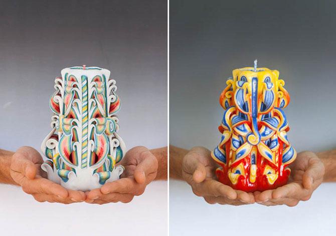 Удивительные свечи Натальи Буриковой