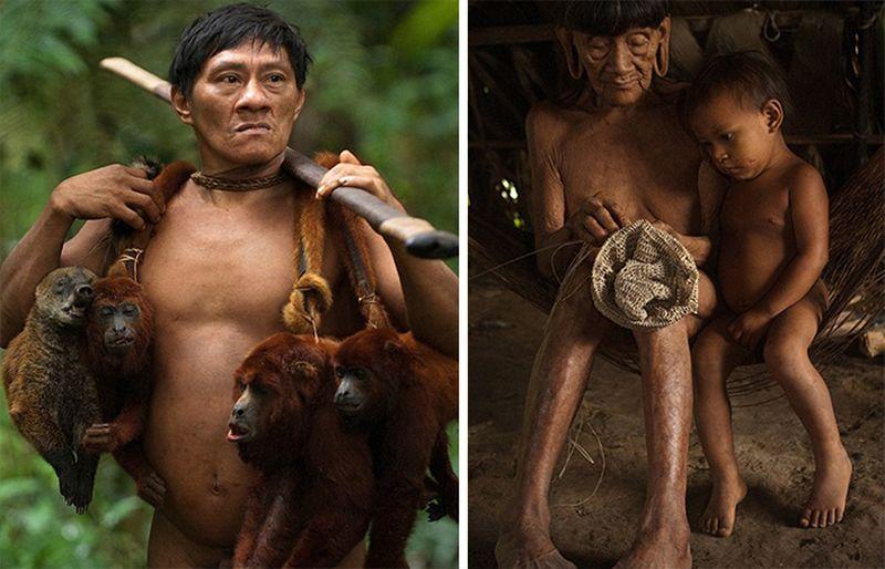 Охотники на обезьян: первобытное племя ваорани