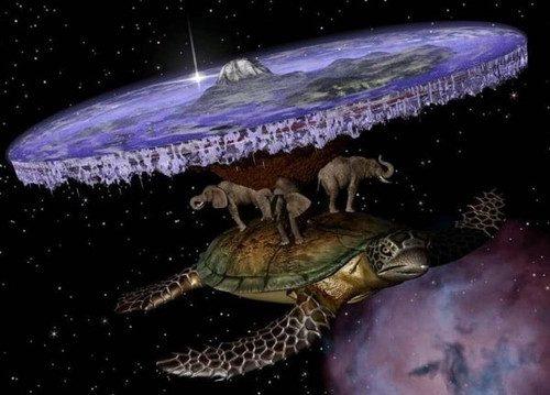 Если бы наша планета была плоской