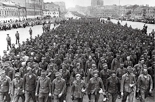 Немецкий «парад» в Москве