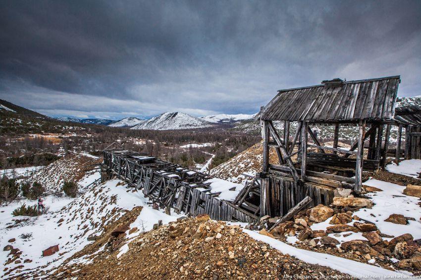 Лагерь ГУЛАГа на Колыме лагерь, колыма