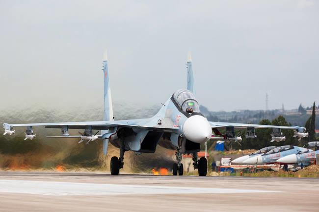 Российские военные предотвратили выход террористов к Пальмире