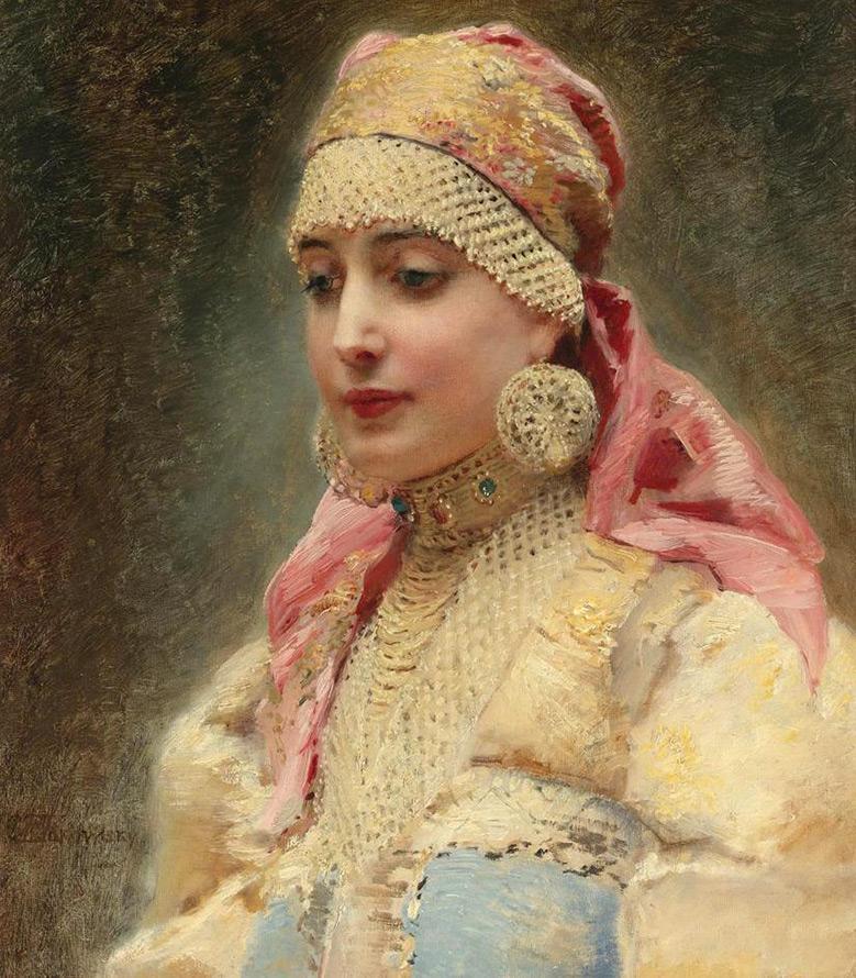 Эталоны женской красоты на Руси и Императорской России.