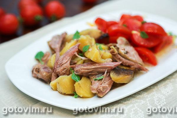 Утка в банке - одновременно и мясо, и гарнир к нему!