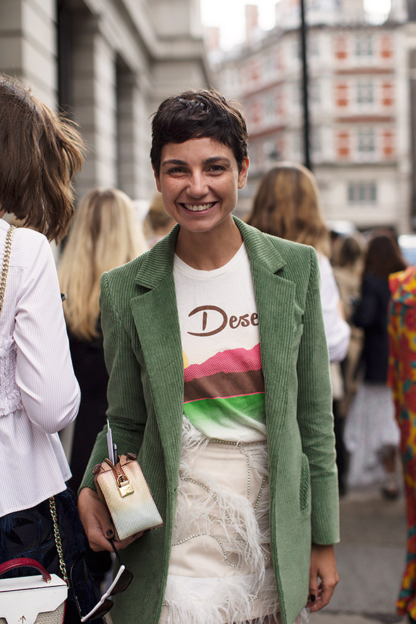 On the Street…Eva, London