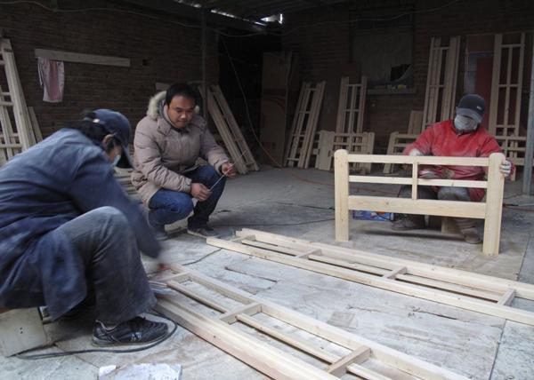 Производство товаров в китайских деревнях