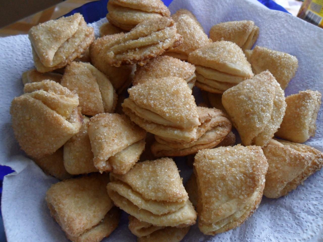Печенье Бананы с творожной начинкой, пошаговый рецепт с фото 88