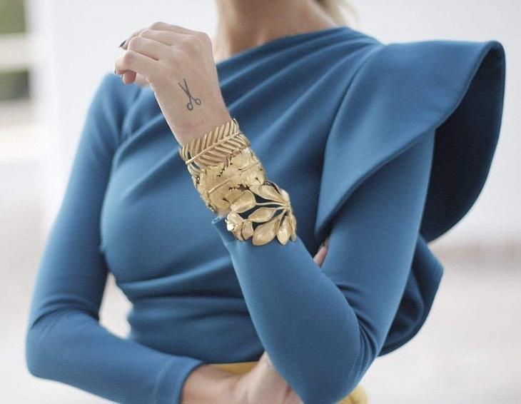 Настоящая кутюрная тайна --10 необычных рукавов, которые вас вдохновят