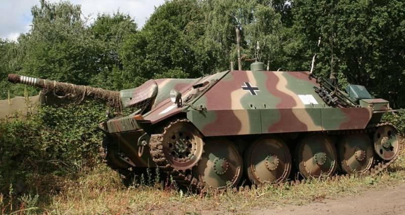 Танкоистребитель «Хетцер» глазами немецкого капитана и газетный разгром «красных»