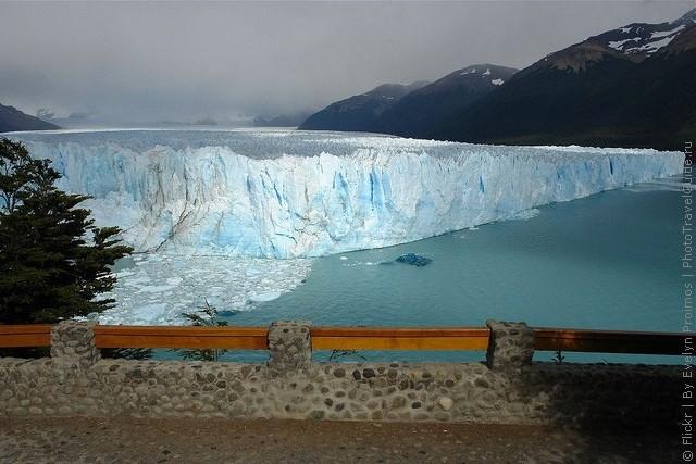 Ледник Перито - Морено. Аргентина.