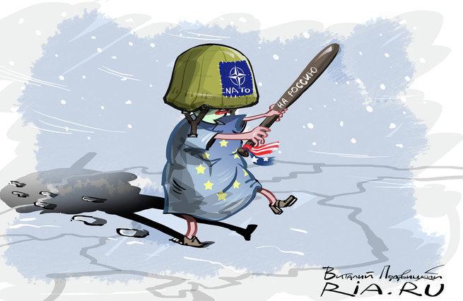 Учения НАТО как провокация РФ
