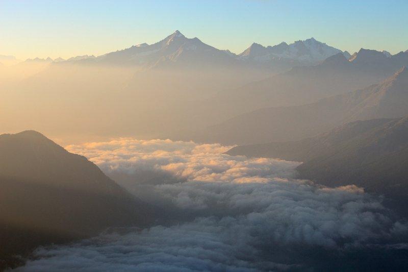 Грайские Альпы (часть Западных Альп на территории Франции, Италии и Швейцарии) горы, красиво, небо, облака, природа, творчество, фото, фотограф