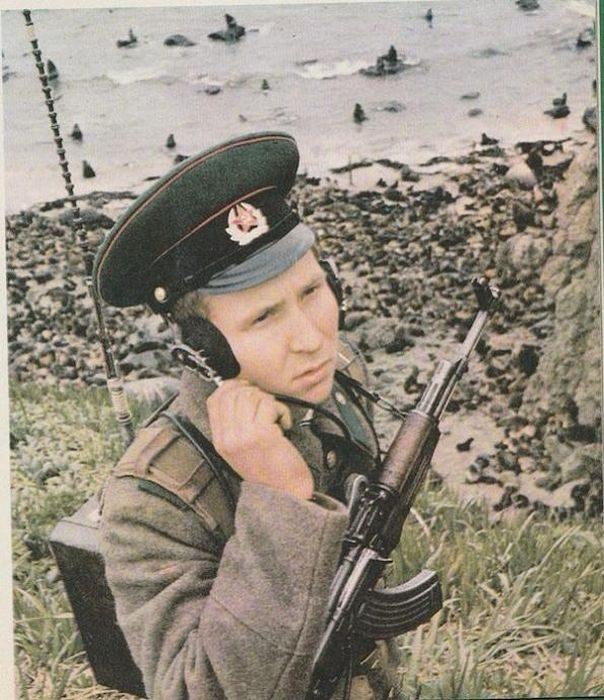 Какими были советские пограничники