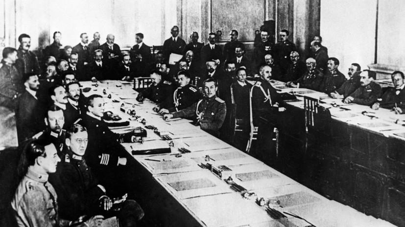 Немцам Брестский мир был нужен не меньше, чем большевикам