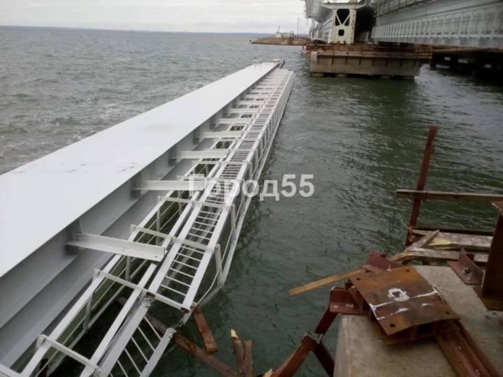 Ротенберг прокомментировал инцидент с падением железнодорожного пролета Крымского моста в пролив