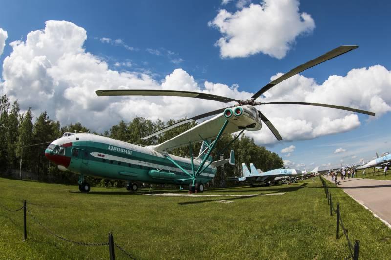 Вертолет В-12 (Ми-12). Непревзойденный шедевр