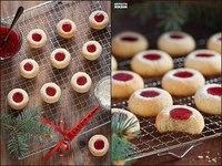 Как приготовить печенье с джемом.