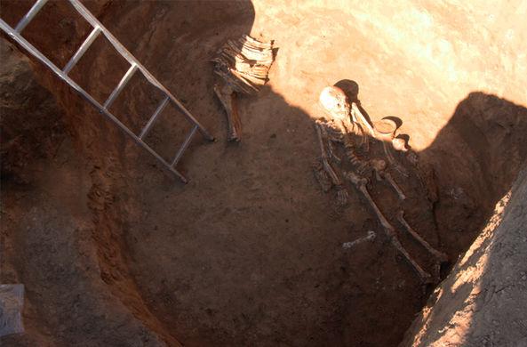 Украинские археологи нашли «амазонку»