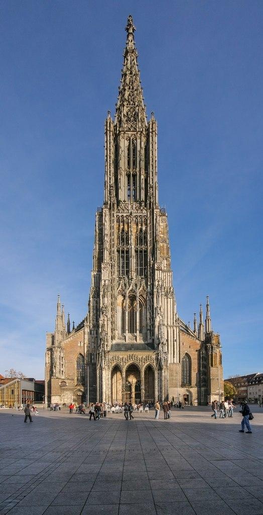 Ульмский собор. Самый высокий собор Европы