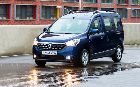 Новый Renault Dokker - видеотест ЗР