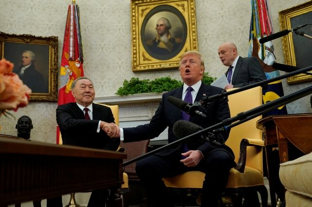 В Госдуме прокомментировали встречу Назарбаева и Трампа
