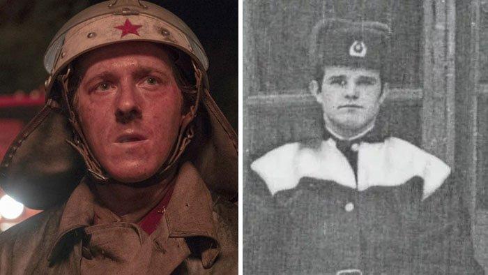 Адам Нагайтис и Василий Игнатенко, Припятский пожарный