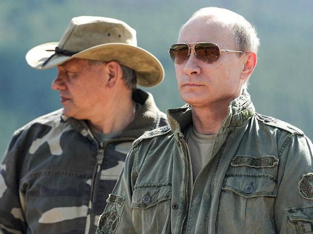 Путин в выходные отдохнул на Енисее
