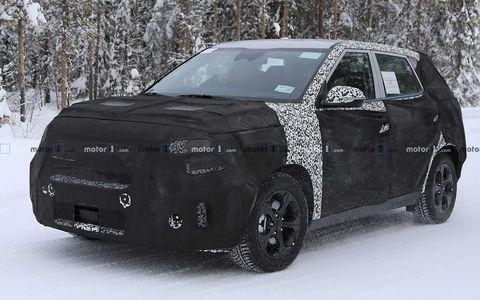Kia тестирует конкурента Hyundai Creta. Первые фото
