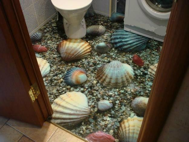Наливные полы 3D