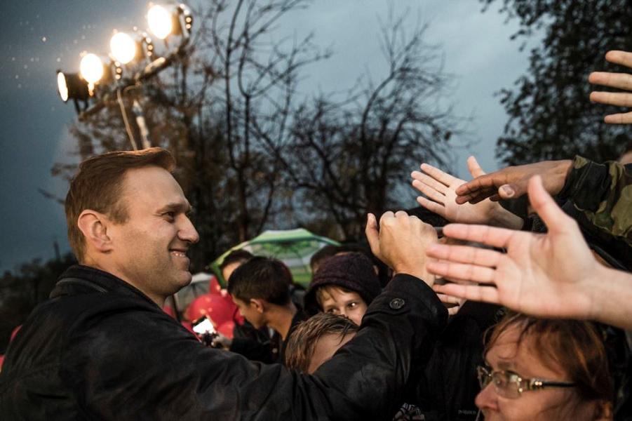 Суд зарегистрировал иск Навального к президенту Путину