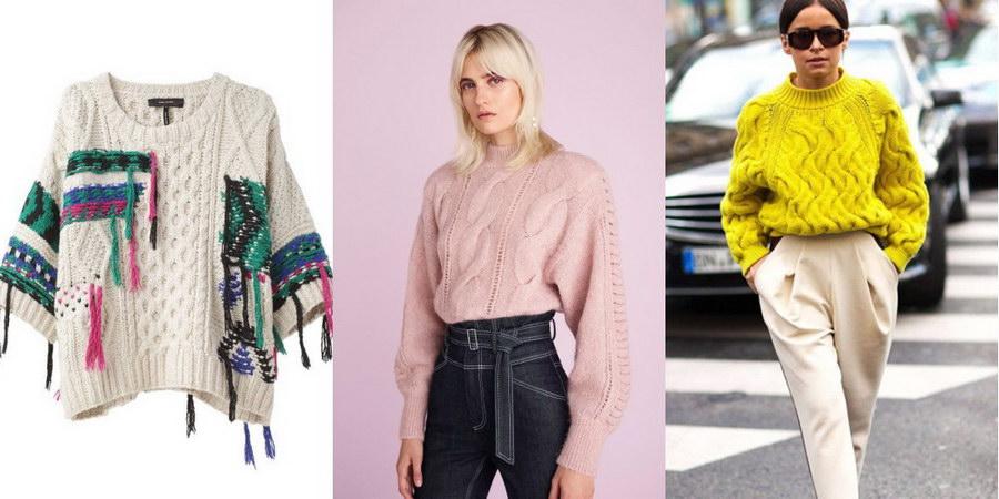 Яркие и стильные свитера 2018 – внеси краски в свой образ!