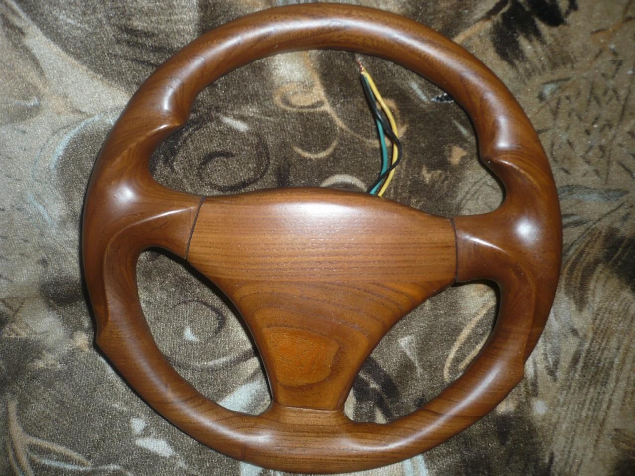 Как сделать руль из дерева своими руками