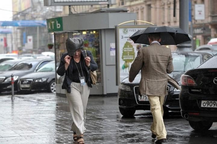 Погода в Москве на 14 июля 2018 года: ожидаются кратковременный дождь и жара до +28 градусов