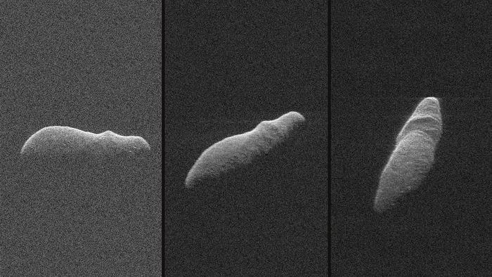 Получены новые радиолокационные изображения крупного околоземного астероида 2003 SD220