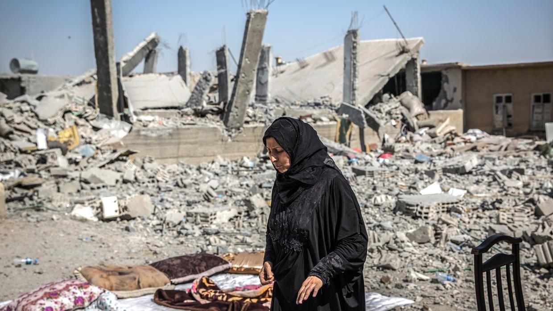 За сутки в результате налетов авиации США погибли десятки курдов и сирийцев недалеко от границы с Ираком