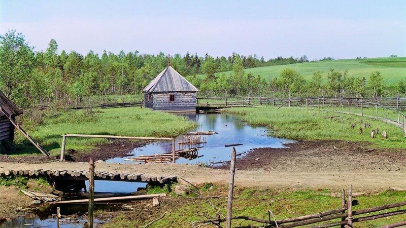 Место, где начинается Волга (27 фото)