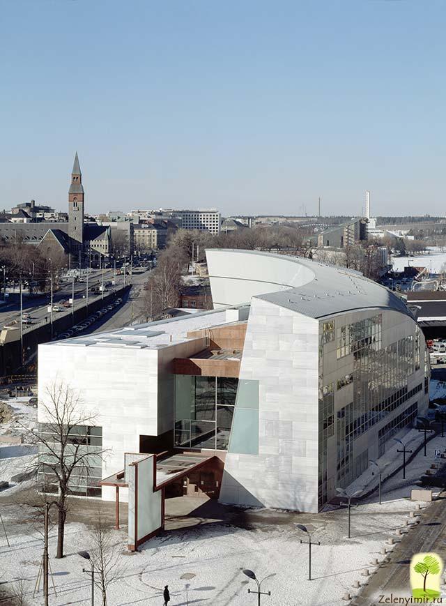 Музей современного искусства Киасма в Хельсинки, Финляндия - 7